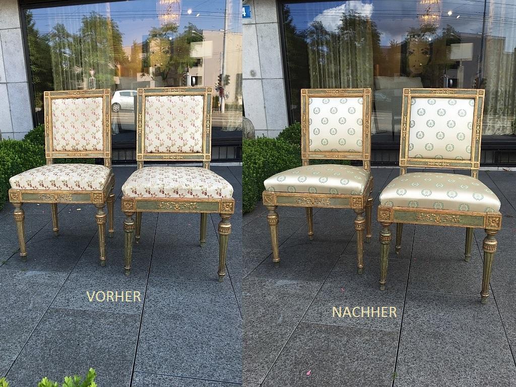 Polster- und Bezugsarbeit - Atelier - Decoris Interior Design Zürich Innenarchitektur Zürich und Inneneinrichtung Zürich am Zürichberg