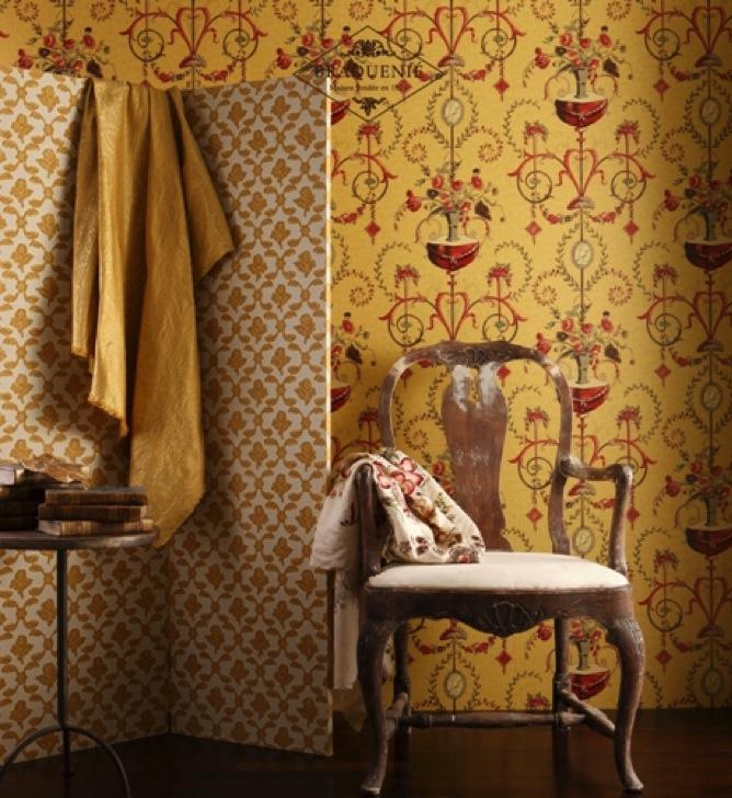 Braquenié Tapeten - diese Tapete von Braquenié erhältlich bei Decoris Interior Design Zürich Innenarchitektur und Inneneinrichtung am Zürichberg