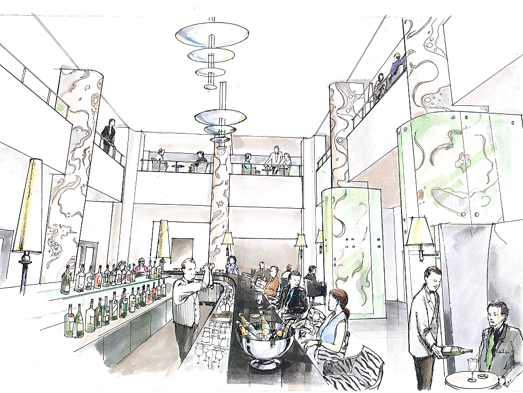 Decoris Interior Design Zürich-Wettbewerbe+Studien-Sony Center Berlin-Innenarchitektur und Inneneinrichtung am Zürichberg mit auf Sie persönlich zugeschnittenen Inneneinrichtungskonzepten. Ihre Experten für Innenarchitektur und Inneneinrichtung in Zürich