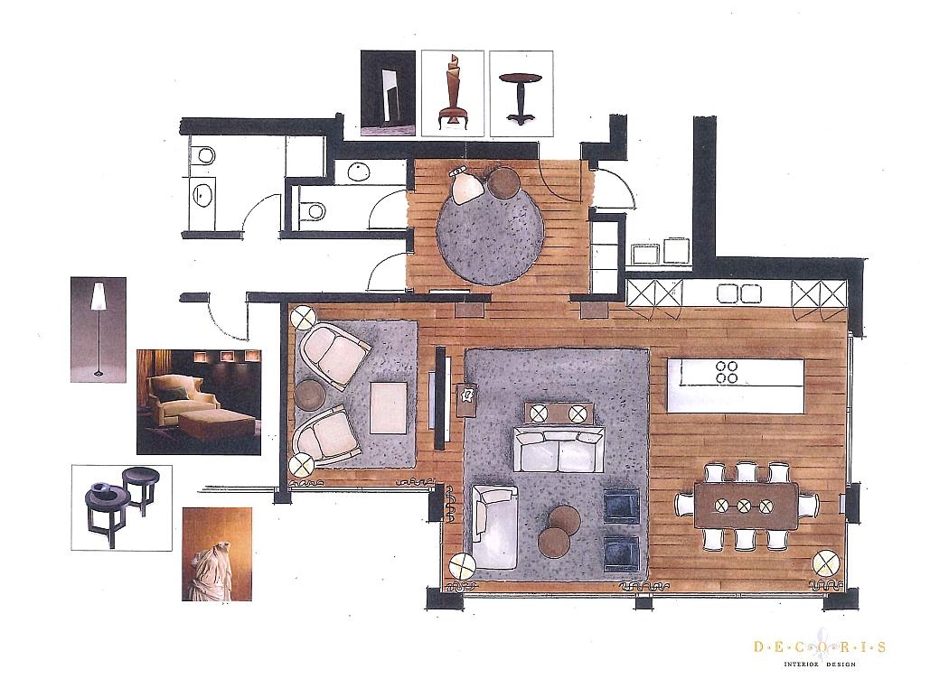 Decoris Interior Design Zürich-Wettbewerbe+Studien-Privatwohnung Altendorf-Innenarchitektur und Inneneinrichtung am Zürichberg mit auf Sie persönlich zugeschnittenen Inneneinrichtungskonzepten. Ihre Experten für Innenarchitektur und Inneneinrichtung in Zürich