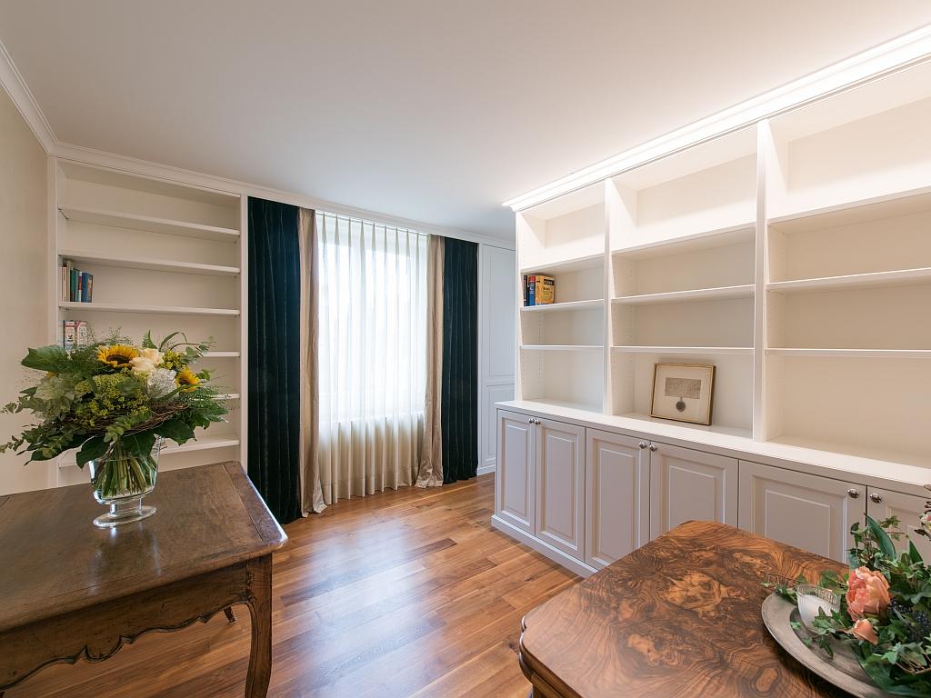 Wohnung in horgen decoris for Wohnung inneneinrichtung design