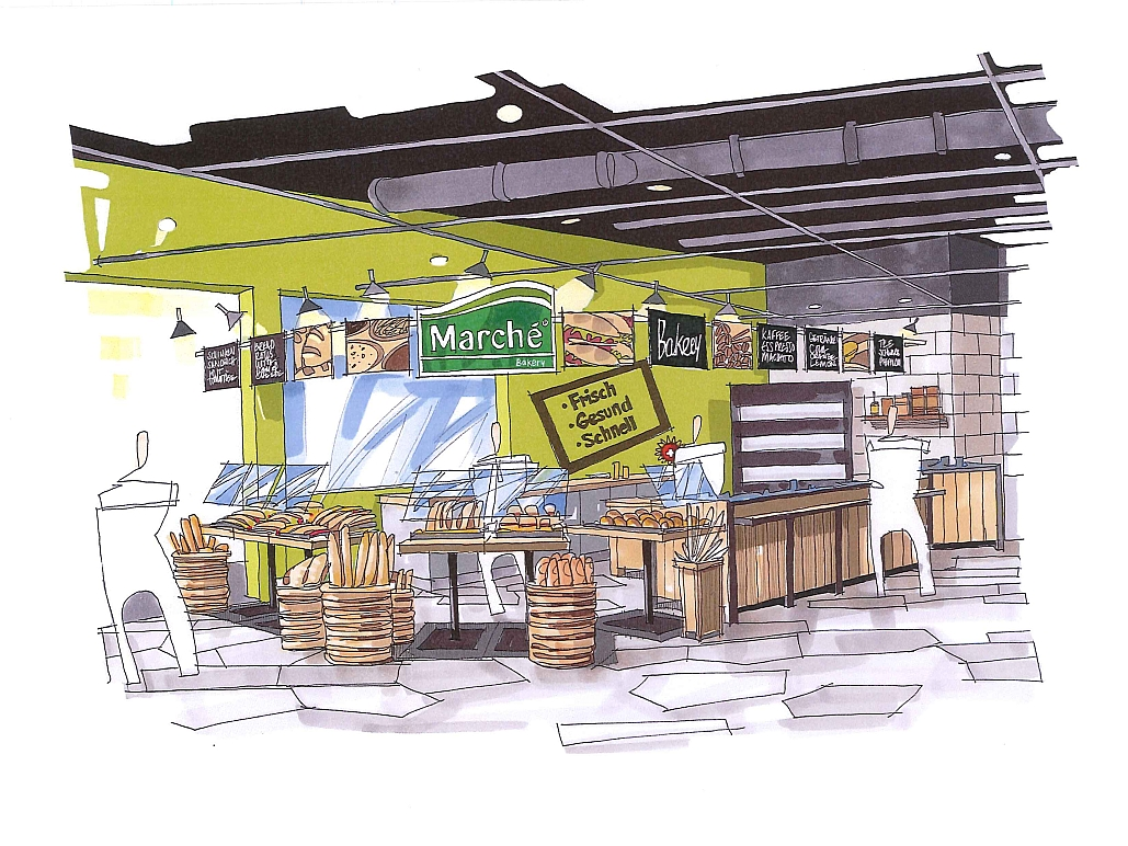 Marché Flughafen Zürich - Decoris Interior Design Zürich - Innenarchitektur und Inneneinrichtung am Zürichberg mit auf Sie persönlich zugeschnittenen Inneneinrichtungskonzepten. Ihre Experten für Innenarchitektur und Inneneinrichtung in Zürich