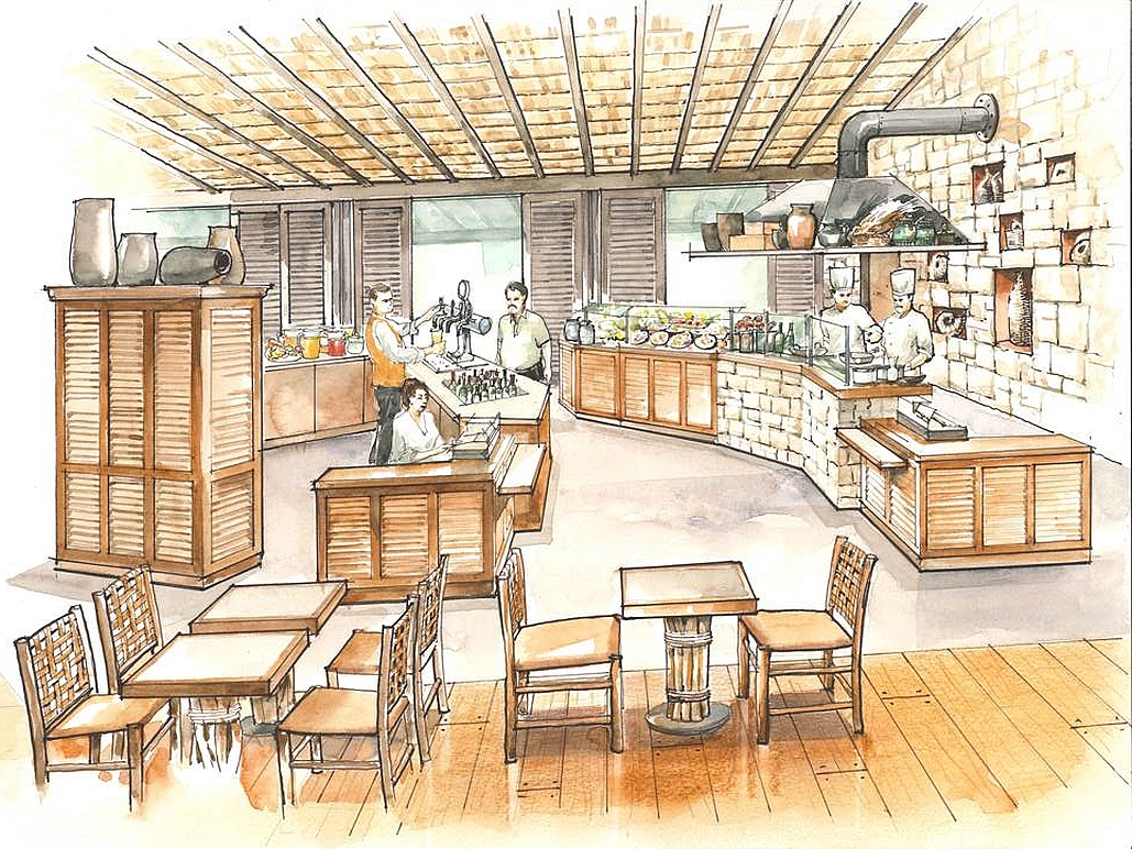 Decoris objektkunden march restaurant zoo leipzig kiwara for Inneneinrichtung design