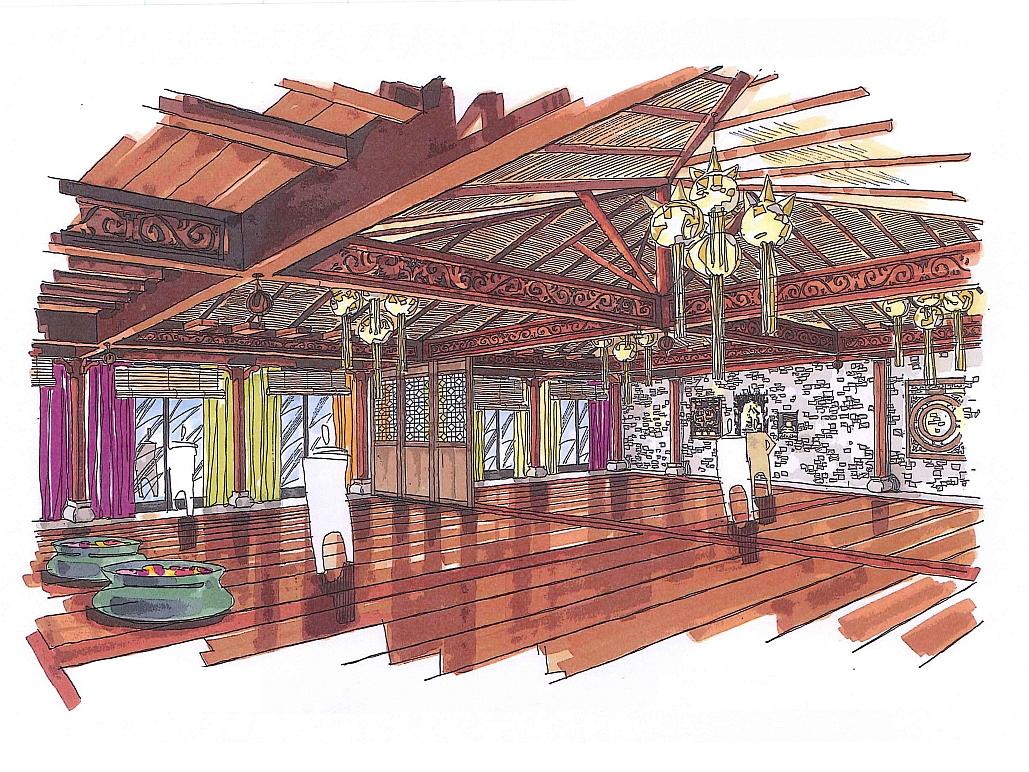 Zoo-Leipzig-Marché Restaurant Patakan-Planung-Ausführung-Decoris Interior Design Zürich - Innenarchitektur und Inneneinrichtung am Zürichberg mit auf Sie persönlich zugeschnittenen Inneneinrichtungskonzepten. Ihre Experten für Innenarchitektur und Inneneinrichtung in Zürich.