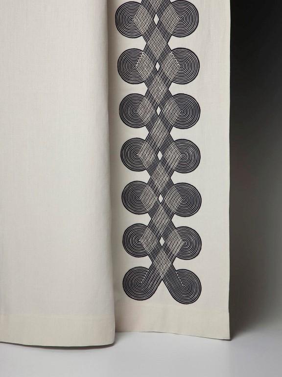 Holland & Sherry Posamenten Broderies - diese Broderies Posamenten von Holland & Sherry erhältlich bei Decoris Interior Design Zürich - Innenarchitektur Zürich - Inneneinrichtung Zürich - Zürichberg – Ihre Experten für Innenarchitektur, Planung, Bauleitung, Ausführung, Gestaltung