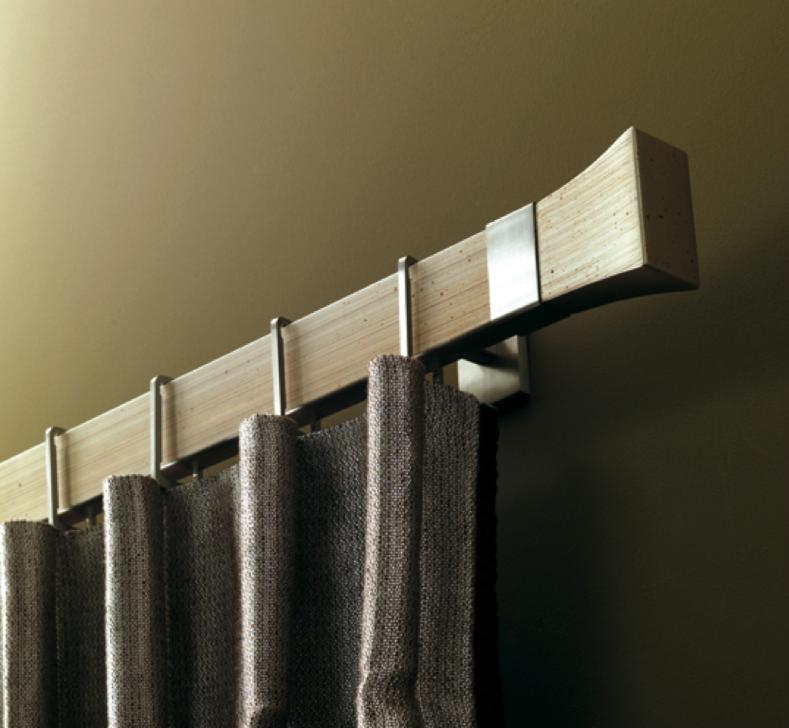 Houlès Vorhangstangen - diese Vorhangstange erhältlich bei Decoris Interior Design in Zürich - Innenarchitektur und Inneneinrichtung am Zürichberg