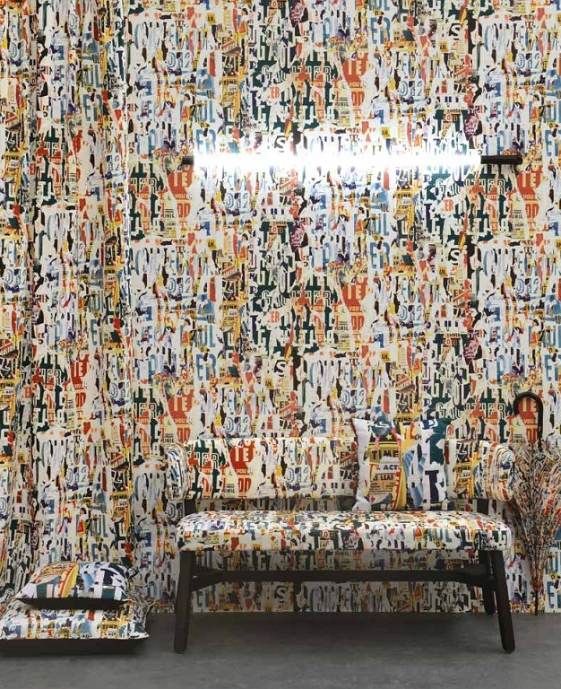 Jean Paul Gaultier Stoffe Textiles. Diese Stoffe von Jean Paul Gaultier sind erhältlich bei Decoris Interior Design Zürich - Innenarchitektur Zürich und Inneneinrichtung Zürich am Zürichberg mit auf Sie persönlich zugeschnittenen Inneneinrichtungskonzepten. Ihre Experten für Innenarchitektur in Zürich und Inneneinrichtung in Zürich