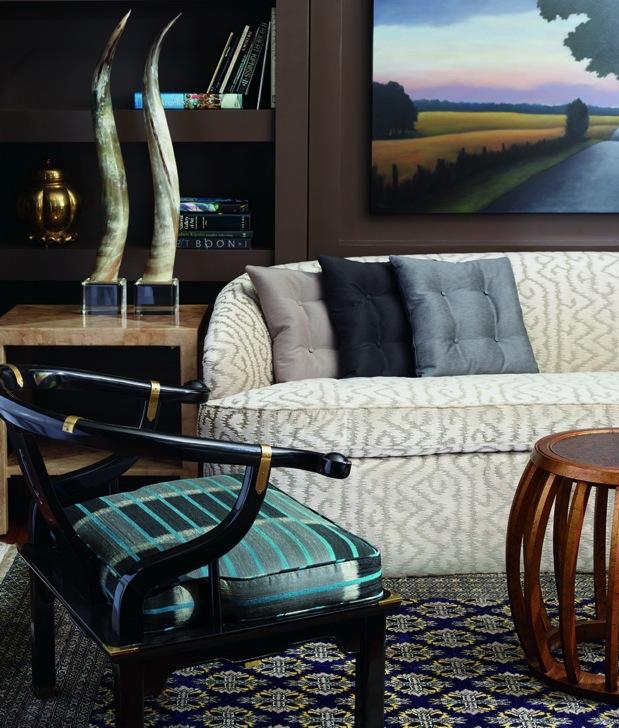 Jim Thompson Stoffe - diese Stoffe von Jim Thompson erhältlich bei Decoris Interior Design Zürich Innenarchitektur und Inneneinrichtung am Zürichberg