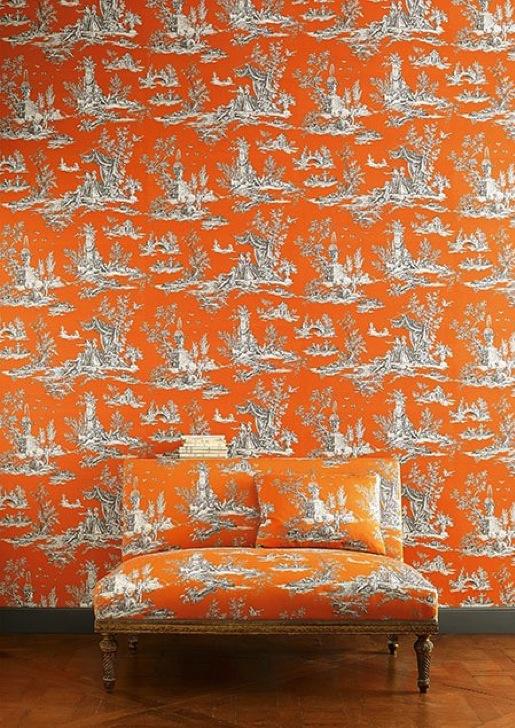 Manuel Canovas Tapeten - diese Tapete von Manuel Canovas erhältlich bei Decoris Interior Design Zürich Innenarchitektur und Inneneinrichtung am Zürichberg
