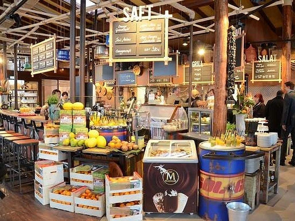 Marché Restaurant Zoo Magdeburg-Decoris Interior Design Zürich-Innenarchitektur Zürich-Inneneinrichtung Zürich am Zürichberg Innenarchitektur, Planung, Ausführung, Gestaltung