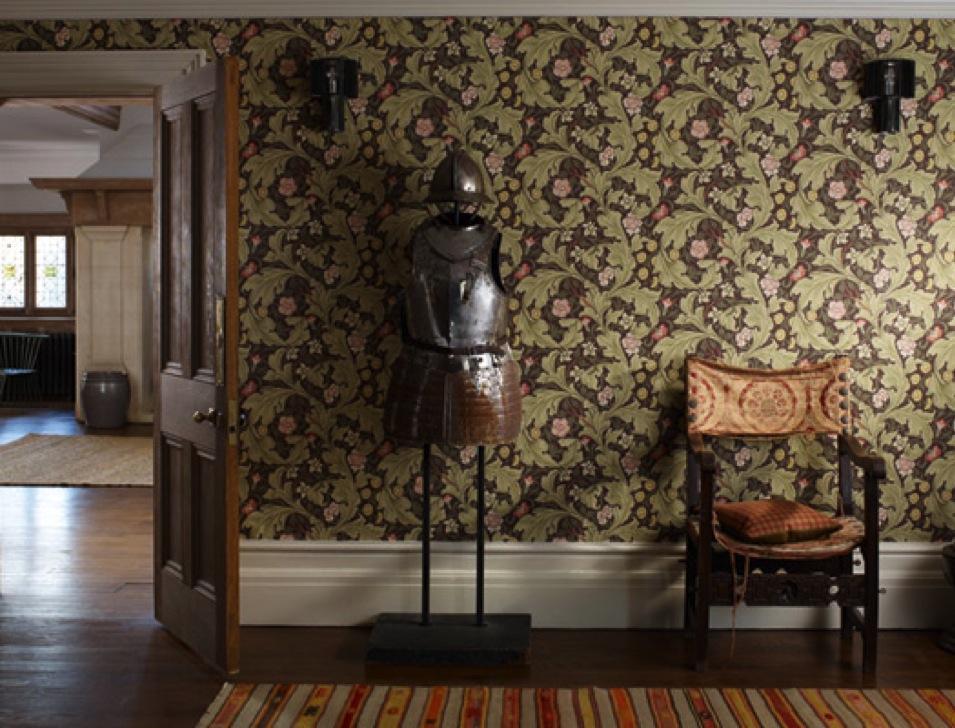 Morris Tapeten - diese Tapete von Morris erhältlich bei Decoris Interior Design Zürich Innenarchitektur und Inneneinrichtung am Zürichberg
