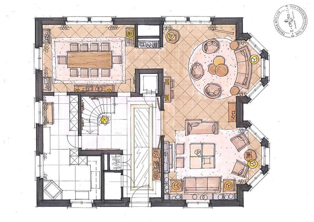 Planung-Services-Decoris Interior Design Zürich - Innenarchitektur und Inneneinrichtung am Zürichberg mit auf Sie persönlich zugeschnittenen Inneneinrichtungskonzepten. Ihre Experten für Innenarchitektur und Inneneinrichtung in Zürich