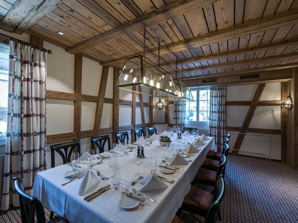 Restaurant Altes Klösterli Zürich-Decoris Interior Design Zürich-Innenarchitektur Zürich-Inneneinrichtung Zürich am Zürichberg Innenarchitektur, Planung, Bauleitung, Ausführung, Gestaltung