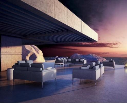 Smania Gartenmöbel - diese Gartenmöbel von Smania erhältlich bei Decoris Interior Design Zürich Innenarchitektur und Inneneinrichtung am Zürichberg