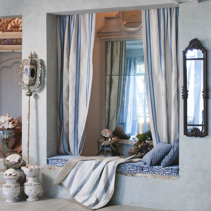 Soleil Bleu-Wellmann-Stoffe - diese Stoffe von Soleil Bleu Wellmann erhältlich bei Decoris Interior Design Zürich Innenarchitektur und Inneneinrichtung am Zürichberg