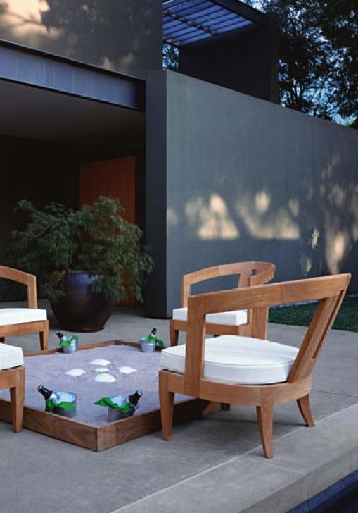 Sutherland Gartenmöbel - diese Gartenmöbel von Sutherland erhältlich bei Decoris Interior Design Zürich Innenarchitektur und Inneneinrichtung am Zürichberg
