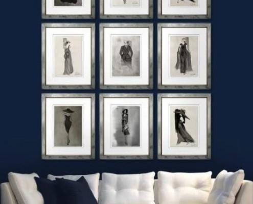 Trowbridge Gallery Bilder / Accessoires - diese Bilder von Trowbridge Gallery erhältlich bei Decoris Interior Design Zürich Innenarchitektur und Inneneinrichtung am Zürichberg
