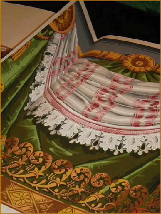 Zuber Tapeten - diese Tapete von Zuber erhältlich bei Decoris Interior Design Zürich Innenarchitektur und Inneneinrichtung am Zürichberg